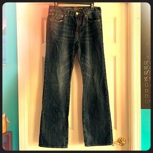 American Men's Original Boot Cut Sz 31 x 34 Jeans